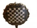 Mesa antigua pedestal de ajedrez - picture 3
