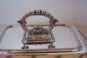 Legumbrera antigua inglés de baño de plata - picture 4