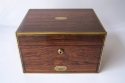 Antigua caja neceser de viaje inglésa - picture 1