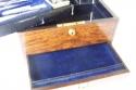 Antigua caja neceser de viaje inglésa - picture 5