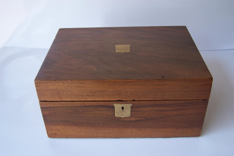 Caja escritorio antigua inglésa
