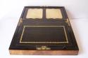 Caja escritorio antigua inglésa con papelera - picture 2