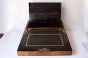 Caja escritorio antigua inglésa con papelera - picture 4
