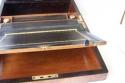 Caja escritorio antigua inglésa con papelera - picture 5