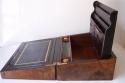 Caja escritorio antigua inglésa con papelera - picture 6