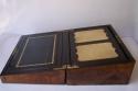 Caja escritorio antigua inglésa con papelera - picture 8