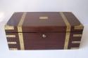Caja escritorio antigua inglésa de caoba - picture 1