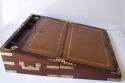 Caja escritorio antigua inglésa de caoba - picture 6