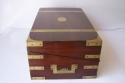 Caja escritorio antigua inglésa de caoba - picture 7