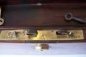 Caja escritorio antigua inglésa de caoba - picture 8