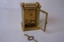 Reloj de viaje antiguo de laton - picture 3
