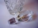 Licorera de cristal vintage inglés - picture 2