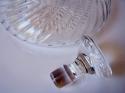 Licorera de cristal vintage inglés - picture 3