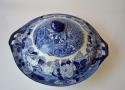 Legumbrera antigua Inglésa de azul y blanco - picture 2