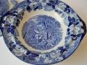 Legumbrera antigua Inglésa de azul y blanco - picture 3