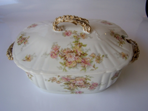 Limoges antique serving tureen