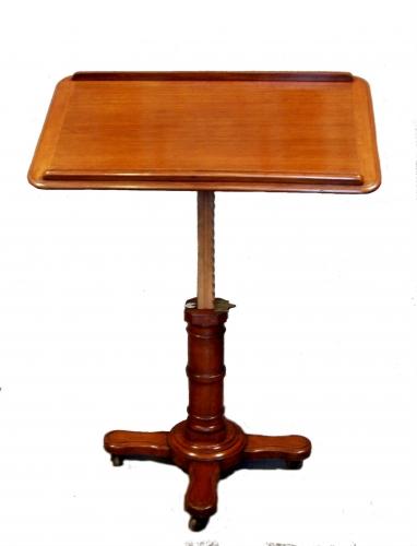 Atril / mesa leer antiguo Victoriana