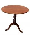 Antigua mesa de velador de caoba - picture 3
