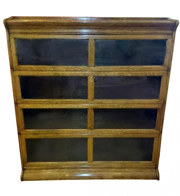 Oak Globe Wernike type, sectional bookcase