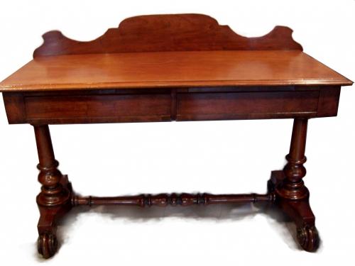 Mesa aparador antigua de caoba