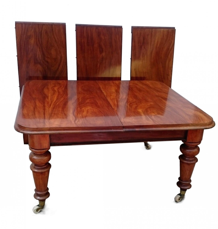Antigua mesa de comedor grande de caoba in mesas de comedor y mesitas - Mesas redondas de comedor antiguas ...