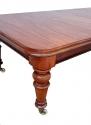 Antigua mesa de comedor grande de caoba - picture 3
