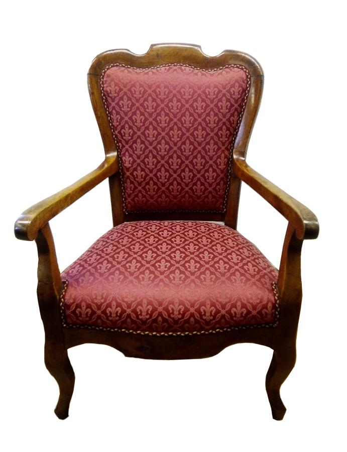 French 19th century French armchair