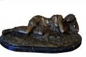 Escultura de bronce sobre base de marmol - picture 1