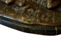 Escultura de bronce sobre base de marmol - picture 4