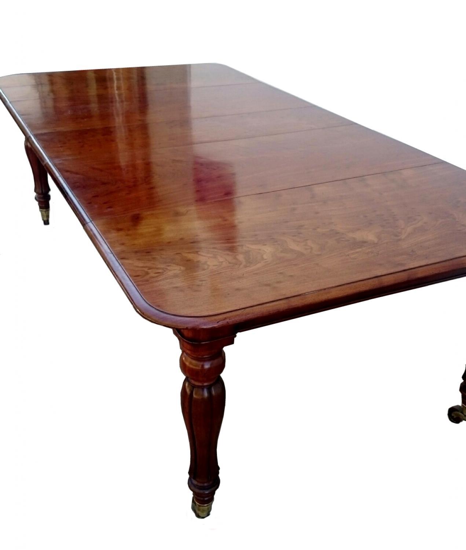 Antigua mesa de comedor de caoba in mesas de comedor y mesitas - Mesas antiguas de comedor ...