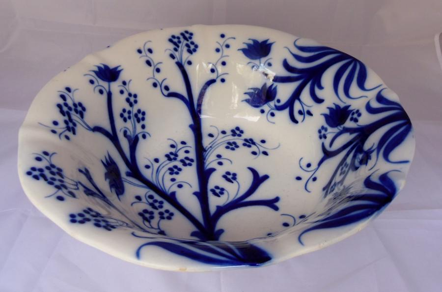 19C English ceramic bowl