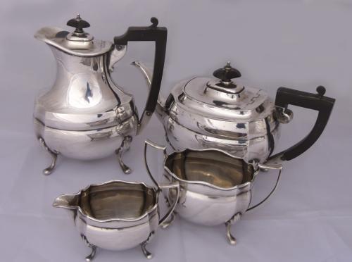 Juego de té antigua inglés