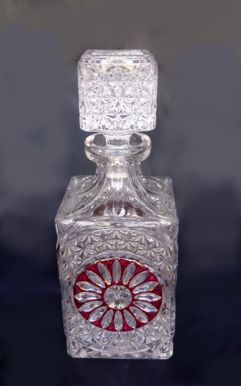 Anna Hutte Bleikristall decanter