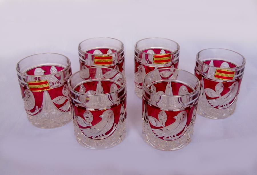 Anna Hutte Bleikristall glasses