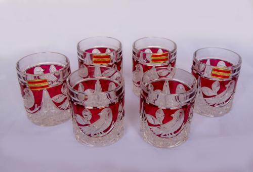 Vasos de Anna Hutte Bleikristall