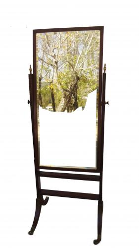 Espejo vestidor antiguo