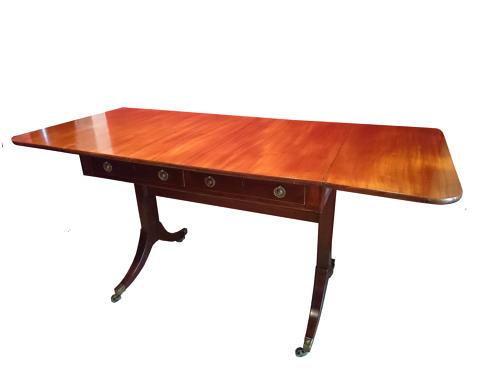 Regency mahogany sofa table circa 1830