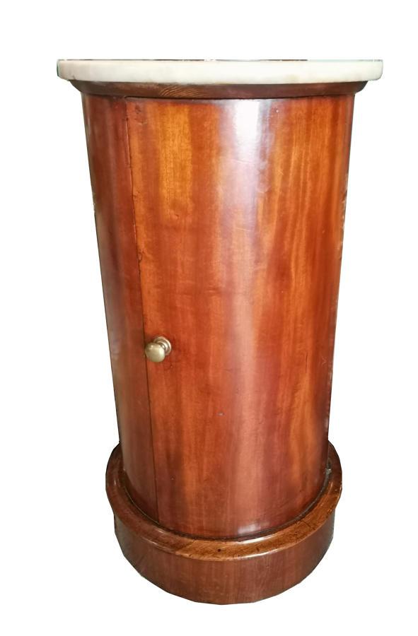 Peana antigua de caoba siglo XIX