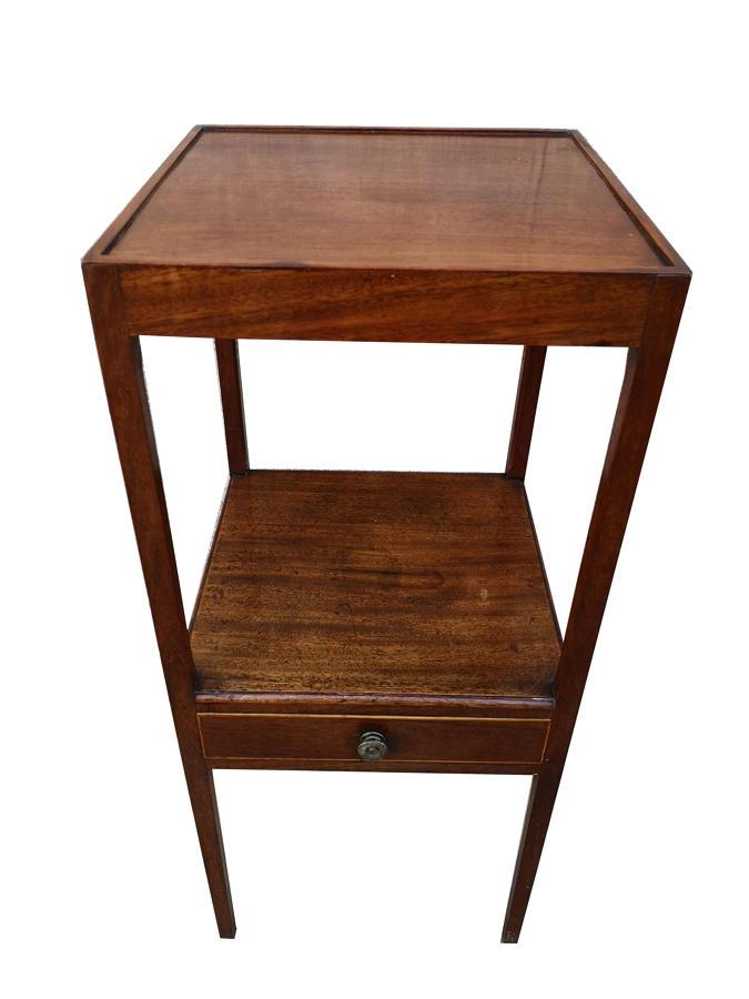 18th century Georgian mahogany washstand