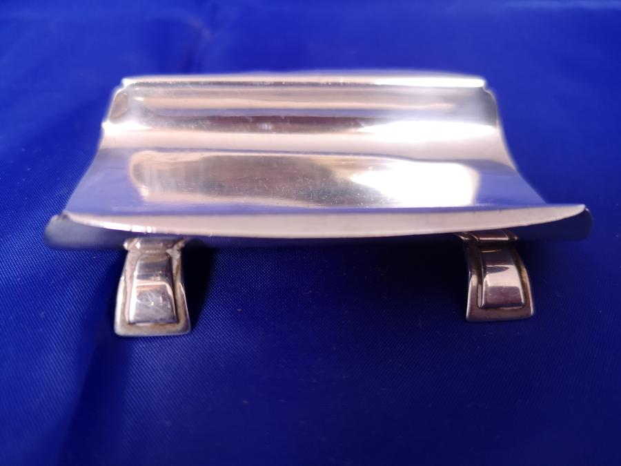 Antique silver pen stand date Birmingham 1934