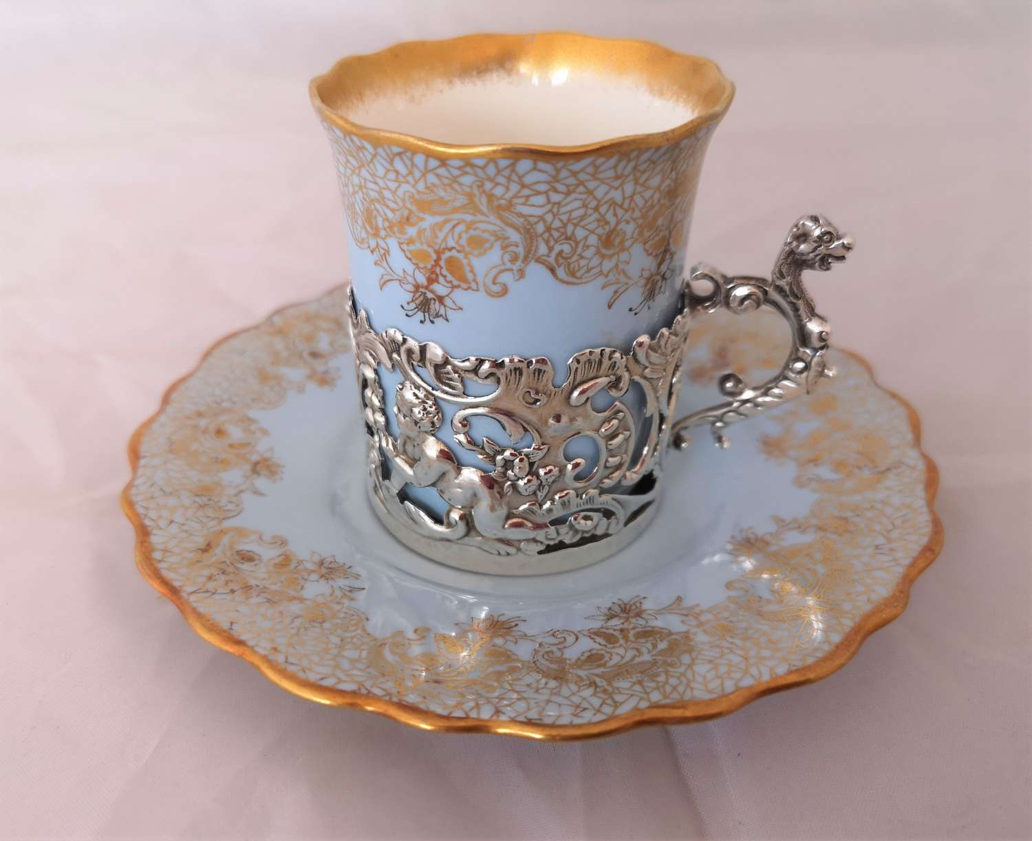 Antique Wedgwood cup and saucer