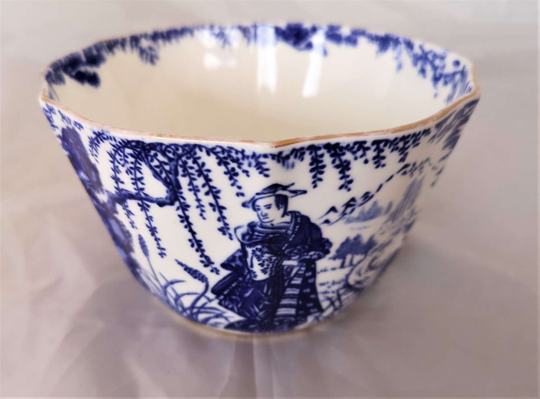 Royal crown derby slop bowl, Mikado pattern