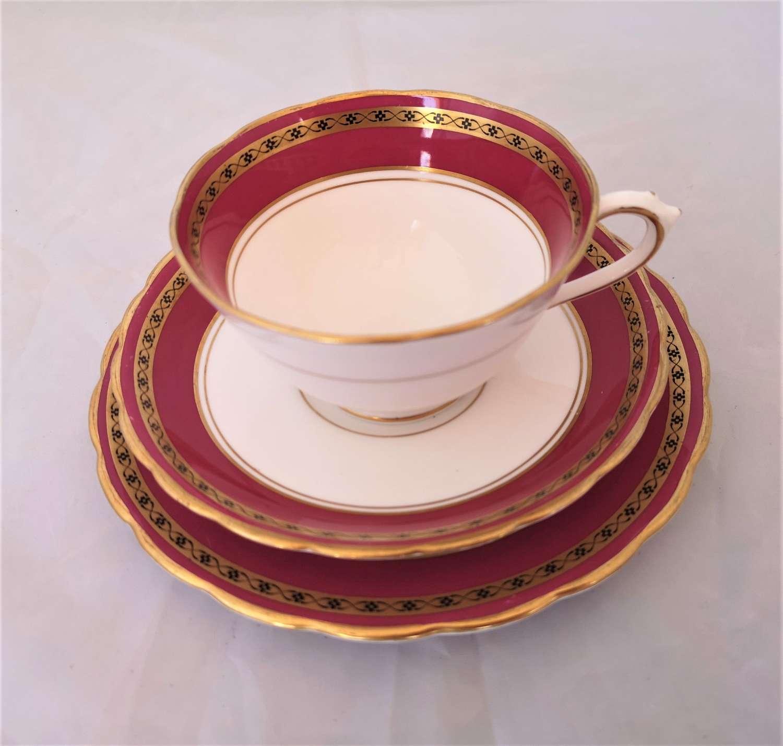 Tuscan China porcelain trio made for Harrods