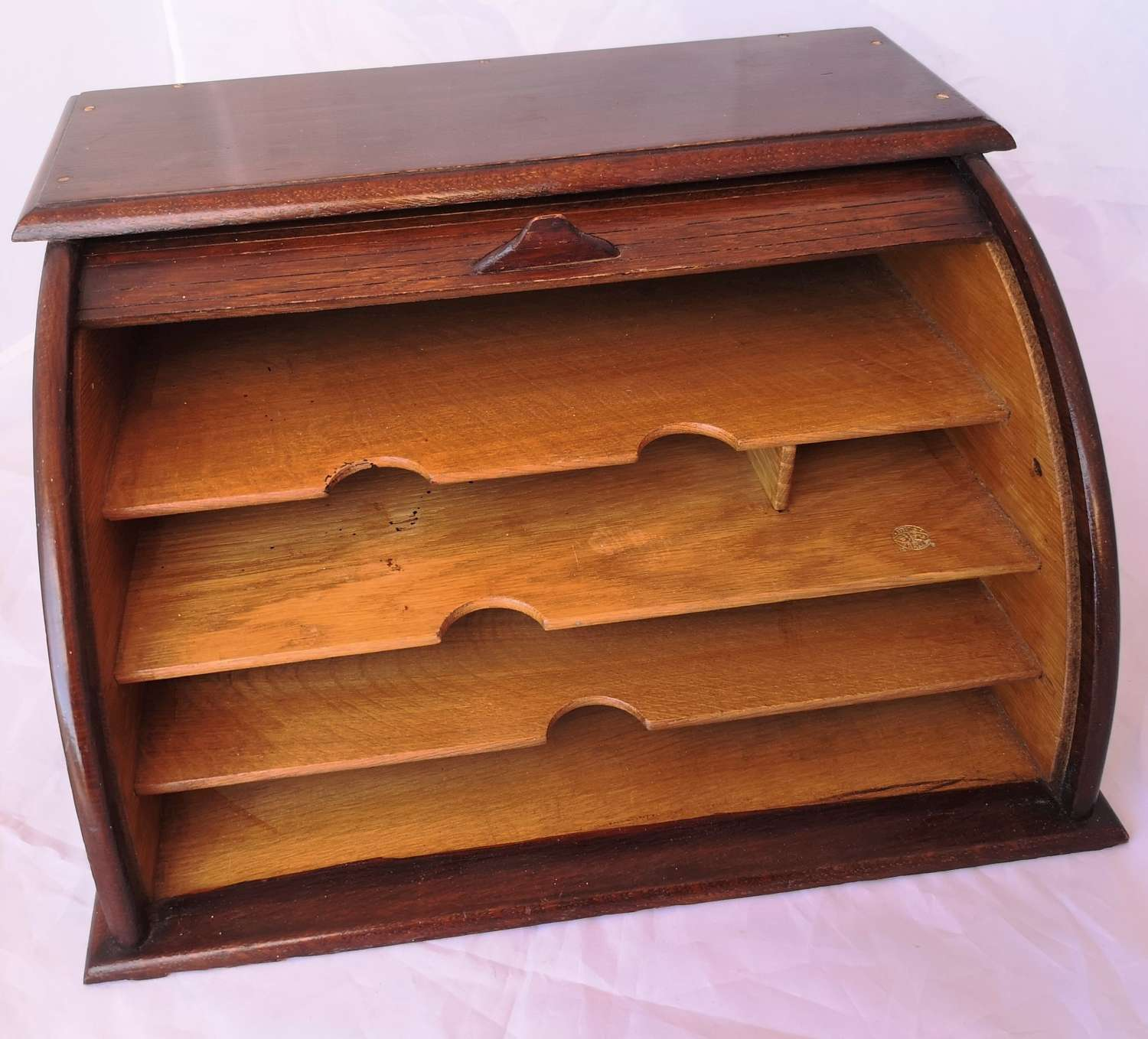 French tambour front stationary box