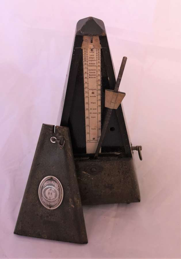 Antique German Maelzel metronome