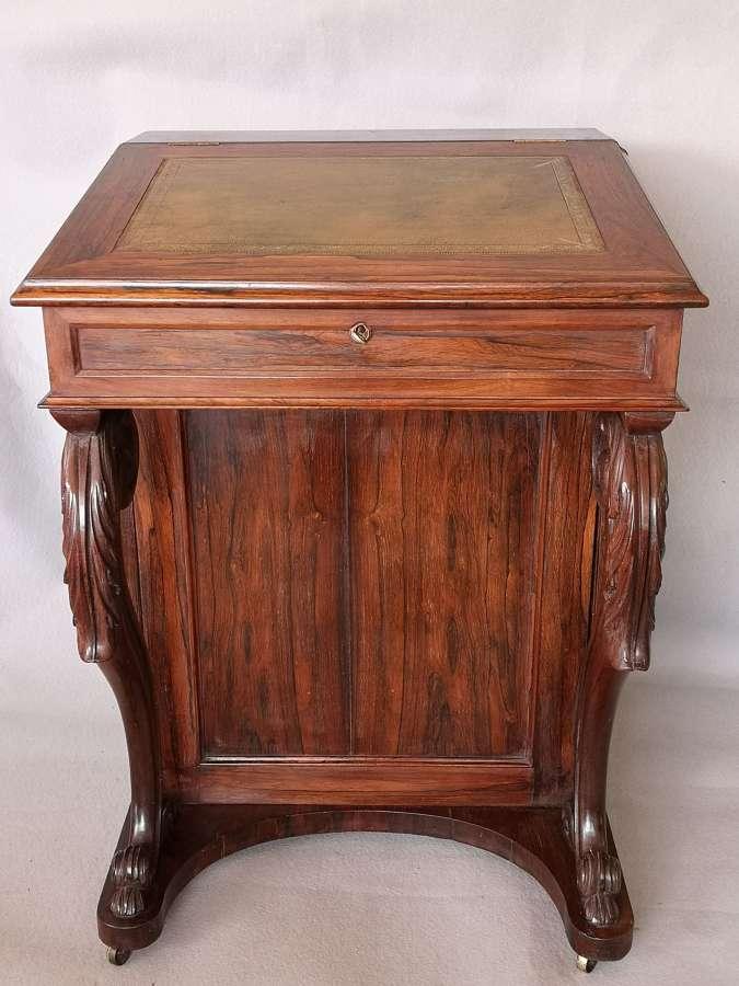 Antiguo escritorio ingles Davenport de palasanto