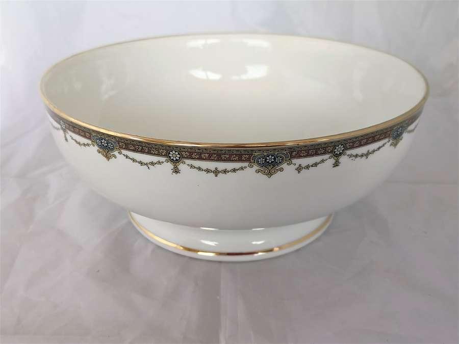 Antique Limoges large porcelain bowl