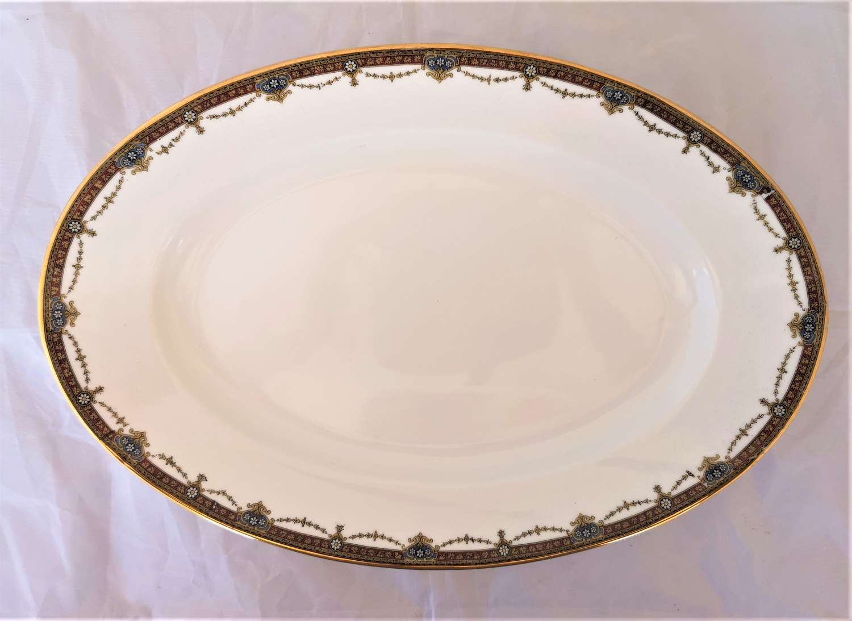 Large Limoges porcelain platter circa 1930