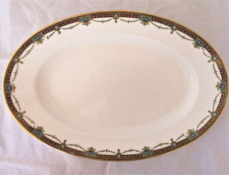 Limoges oval porcelain platter circa 1930