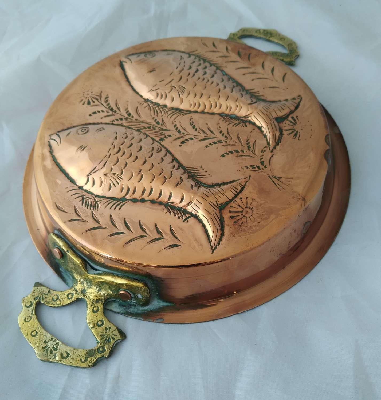 19th century antique copper mould